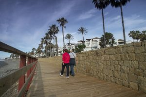 Coastal pathway - Lion Trust Spain