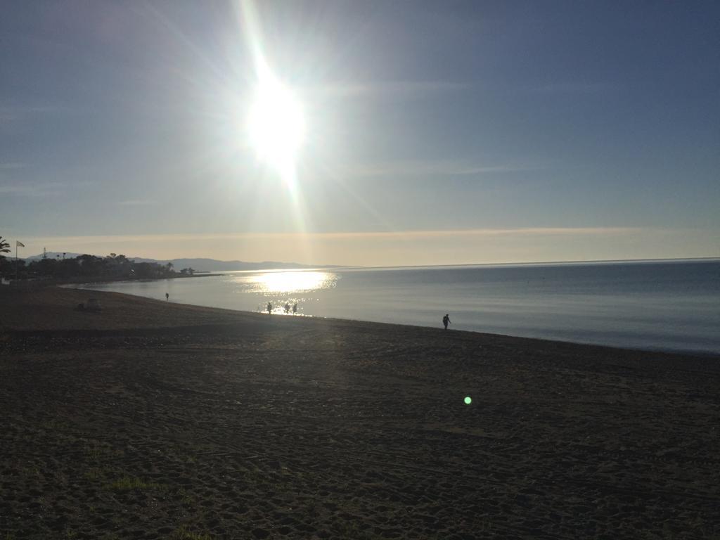 Marbella in lockdown, ocean , beach