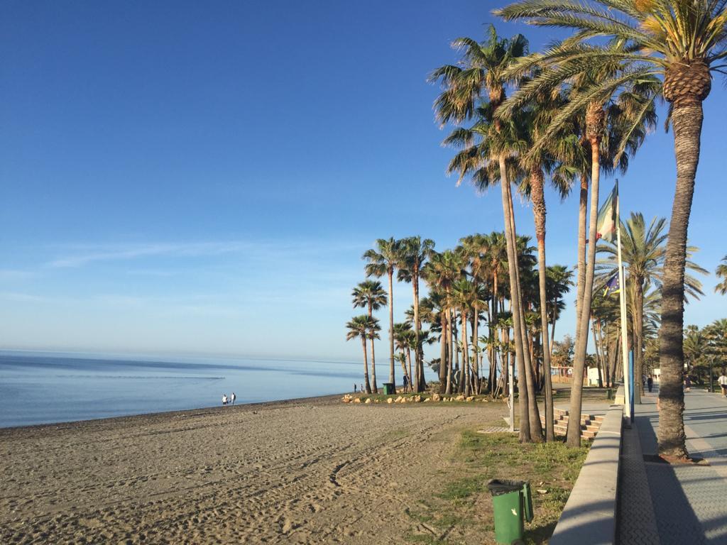 Marbella in lockdown, Beach