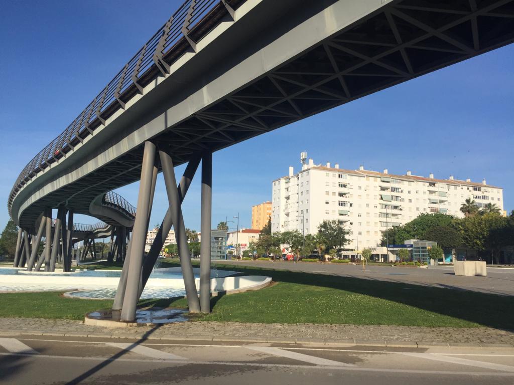 Marbella in lockdown , Bridge in marbella